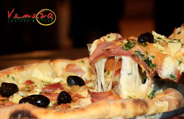 Pizzas p/ Consumo no Local, Retirada ou Delivery no Veneza