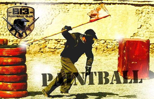 B13 Paintball Club: 1 Hora e Meia de Pura Adrenalina