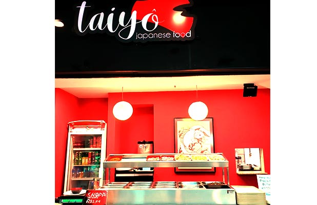 400g de Comida no Almoço do Taiyô (Shop. Royal Plaza)