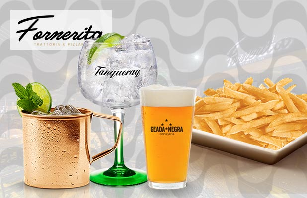 Chope, Drinks e Porções na Fornerita