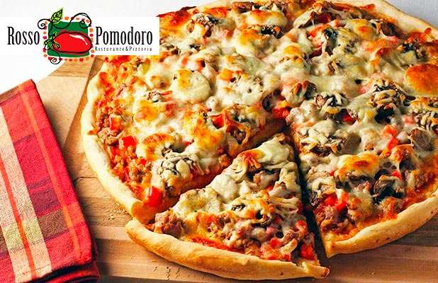 Pizza Rosso p/ Consumo no local, Retirada ou Delivery