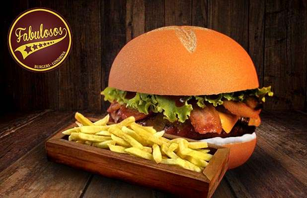 Combo Hamburguer Costela Bacon + Fritas