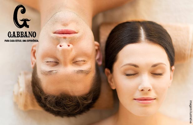 Limpeza de Pele, Massagem e Mini Day Spa na Gabbano