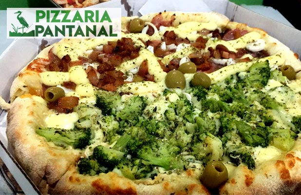 Pizza 12 Fatias p/ Consumo no Local, Delivery e Retirada (Av. Europa)