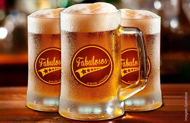 Chope 300ml no Fabulosos